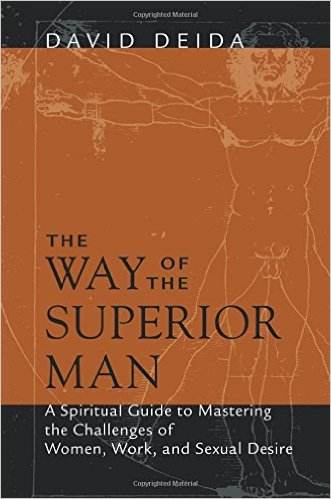 This is A MUST READ for every man. David Deida boldly lays out the spiritual character of both the sacred masculine and feminine. He discusses the vital importance of polarity in a relationship in great length. This book is more than a relationship guide, it's full of wisdom for higher ideals, individually and in intimate bonds.