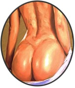 Woman's Hidden hot spots-butt