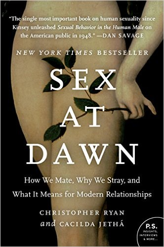 This is the best book on sexual archeology and answers so many important questions: Why are women louder than men during sex? What is the sexual state of nature for mankind? Why do human males have large testicles? The answers will surprise you.